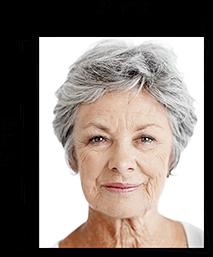 Passfoto mit Lineal und Größe in Millimetern