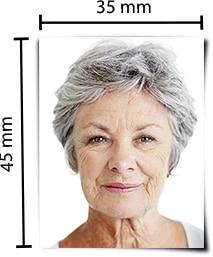 Größe Format Passbild Persofoto Biometrische Passbilder